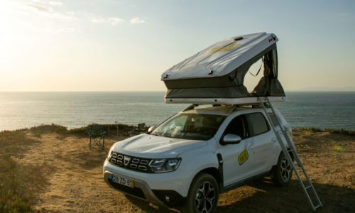 Dacia Duster with Roof top Tent